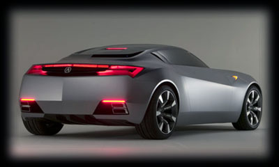 Acura Cars on Acura Advanced Coupe Concept 2007