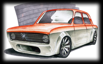Foose design! altos dibujos, altos autos! Fiat128Tuning-01