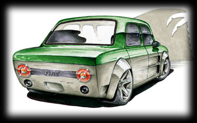 Foose design! altos dibujos, altos autos! Fiat128Tuning-03